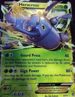Pojo s Pokemon Card of the Day Mega Heracross Card