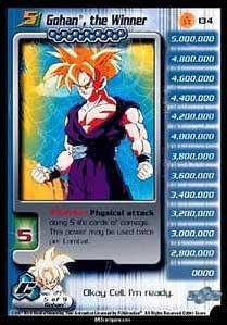 dbz dragon ball z ccg card of the day