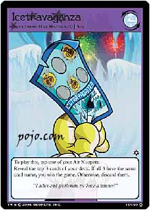 Pojo's NeoPets site - Card of the Day  Card Reviews