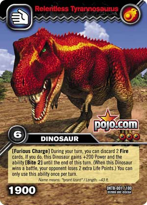 Pojo 39 s gaming site strategies tips price guides for yu - Dinosaure king saison 2 ...
