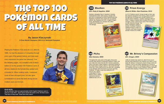 Top 100 Pokemon Cards of all time - by Jason Klaczynski