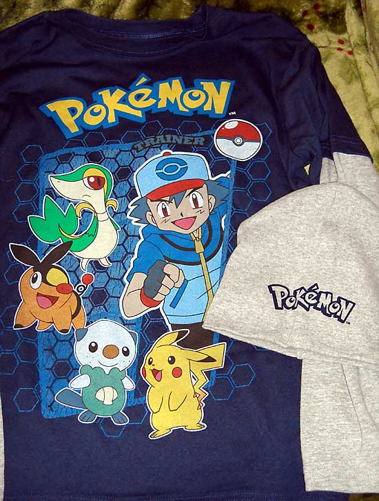 Pokemon clothing store