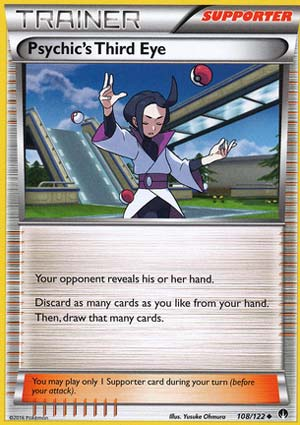 98//122 XY Breakpoint Delinquent Pokemon Trainer Card