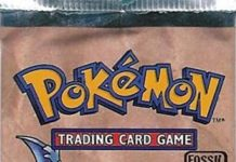 Pokemon Fossil Booster Pack