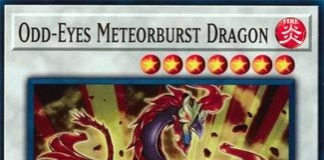 Odd-Eyes Meteorburst Dragon
