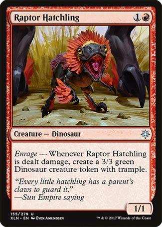 Raptor Hatchling - Ixalan