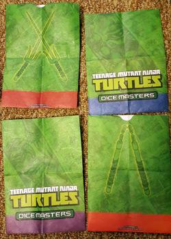 TMNT Dice Masters Bags
