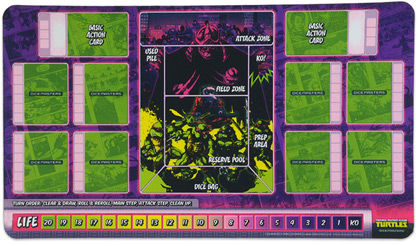 TMNT Dice Masters Playmat
