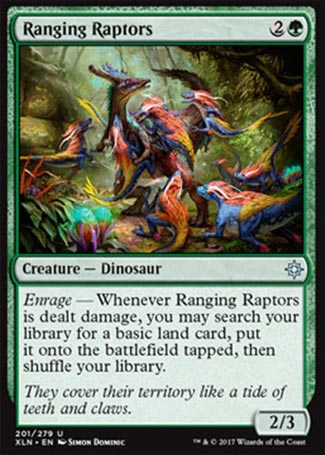 Ranging Raptors - Ixalan