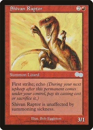 Shivan Raptor - Urza's Saga