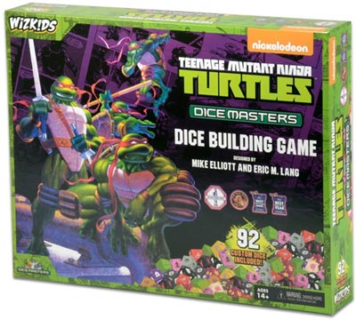TMNT Dice Masters Dice Game Box