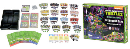 TMNT Dice Masters Box Contents