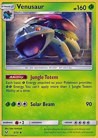 Venusaur Shining Legends