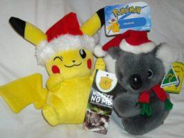 Santa Pikachu Plush