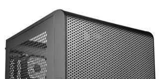 Thermaltake Core V1 Black Edition SPCC Mini ITX Cube Computer Chassis