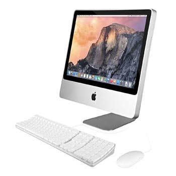 "Apple iMac 20"" Core 2 Duo P7550 AIO"