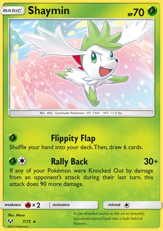 Shaymin (Shining Legends SLG 7)