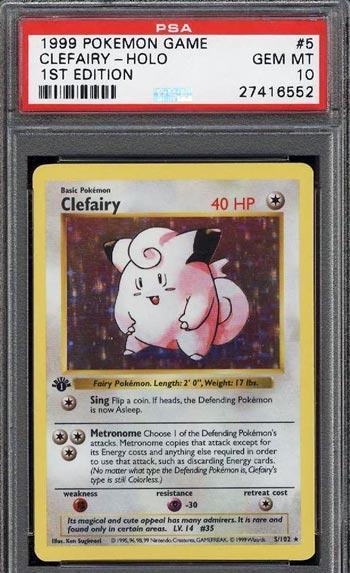 Clefairy - 1st