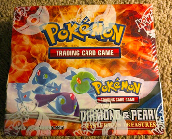 2007 Diamond & Pearl Mysterious Treasures Booster Box