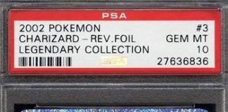 Legendary Collection Reverse Foil Charizard