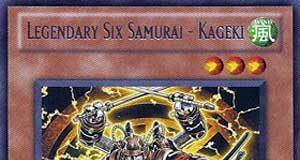 Legendary Six Samurai - Kageki