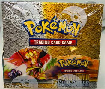 Pokemon Heart Gold Soul Silver Base Set Sealed Booster Box