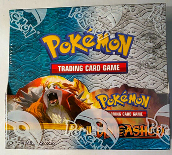 Pokémon TCG Heartgold Soulsilver - HGSS Unleashed Booster Box - FACTORY SEALED
