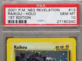Raikou 1st Edition Neo Revelation