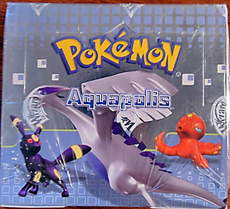 Pokemon Aquapolis Booster
