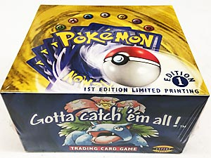 Pokemon Base Set Booster Box - 1st Edition