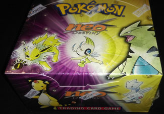 Pokemon 1st edition Neo Destiny Booster Box