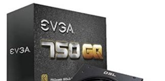 EVGA 750 GOLD Semi Modular Power Supply