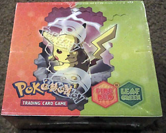 Pokemon EX Fire Red & Leaf Green Booster Box