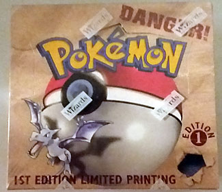 Pokemon 1st Edition Fossil Set Booster Box