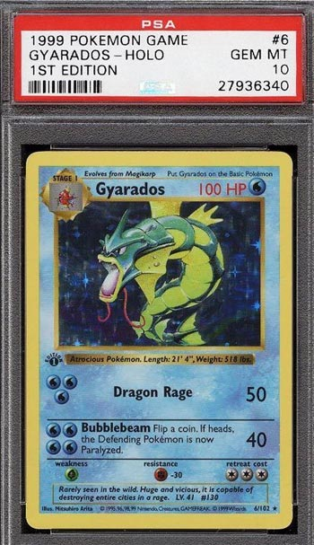 Gyarados Base Set