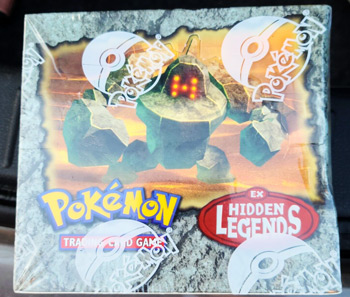 2004 Pokemon EX Hidden Legends Booster Box Factory Sealed