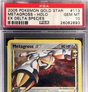 Metagross Gold Star