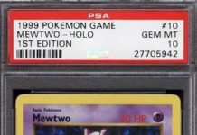 Mewtwo base set price