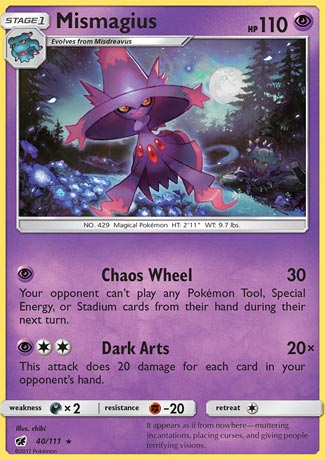 Mismagius - Crimson Invasion