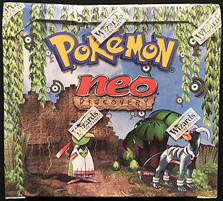 Pokemon 1st Edition Neo Discovery Booster Box