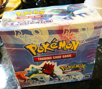 Pokemon Call of Legends English Sealed Booster Box