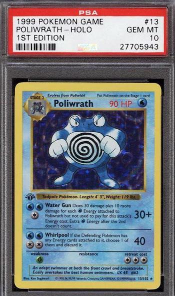 Poliwrath PSA 10