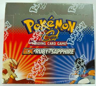 2003 Pokemon EX Ruby & Sapphire Booster Box