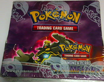 Pokémon DIAMOND & PEARL STORMFRONT Booster Box