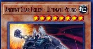 Ancient Gear Golem - Ultimate Pound