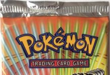 Pokemon 1st Edition Gym Heroes Booster Pack