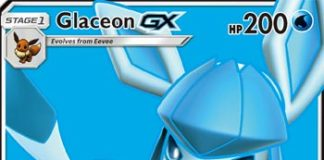 Glaceon-GX Ultra Prism