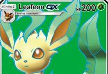 Leafeon-GX Ultra Prism