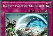 Showdown of the Secret Sense Scroll Techniques