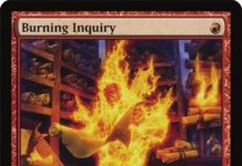 Burning Inquiry